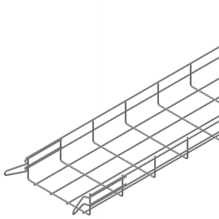Wire basket cable tray / modular - EASYCONNECT EC60 Series ...