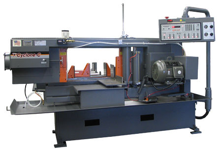 Automatic dual column miter horizontal band saw - 16 x 22, 7.5 HP
