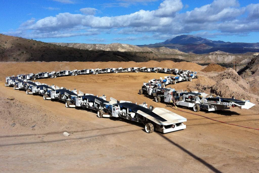 Continuous haulage system - max. 1 200 t/h - Prairie Machine ...