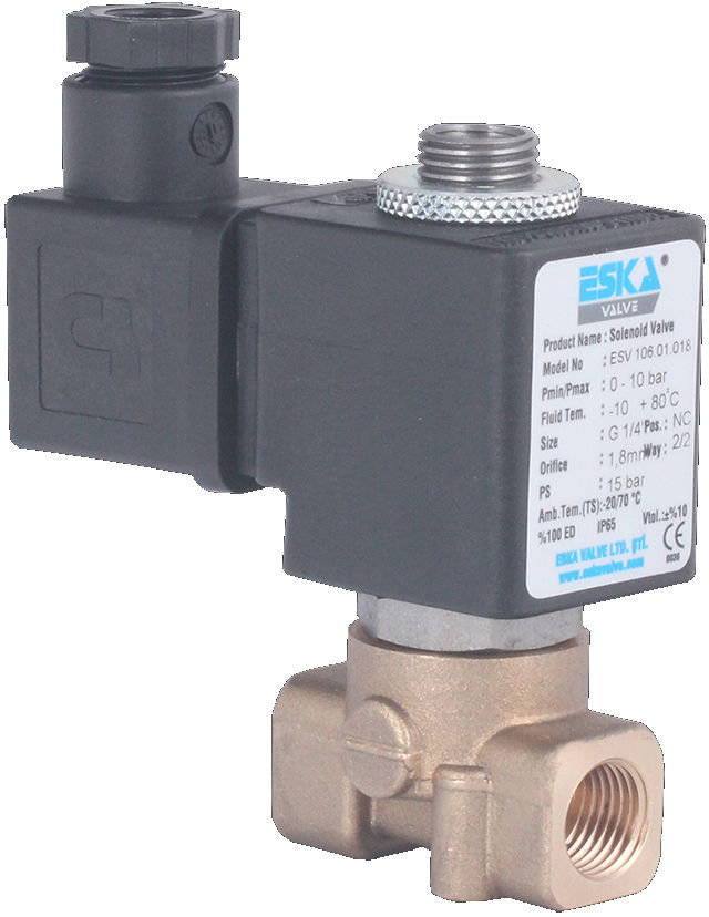 Direct Operated 3/4 Port Solenoid Valves