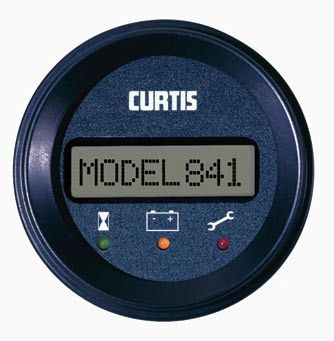 Discharge indicator / battery - 24 - 80 VDC | 841 - Curtis Instruments