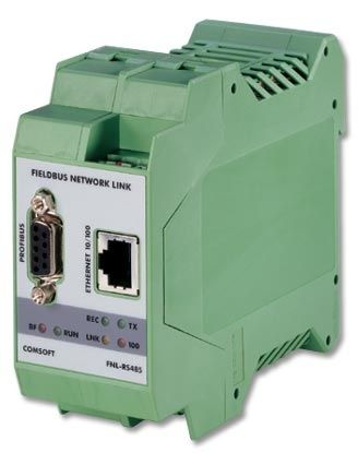 Ethernet Gateway on Ethernet   Profibus Fieldbus Gateway   10 100baset  Rs485  Rs232   Fnl