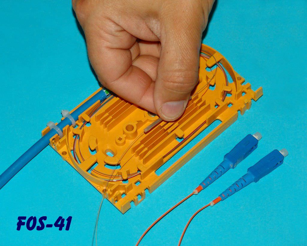 Fiber Optic Splice Cassette