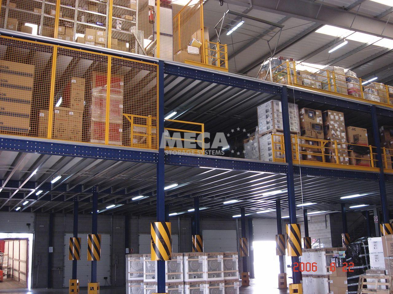 rak gudang heavy duty / warehouse pallet rack system