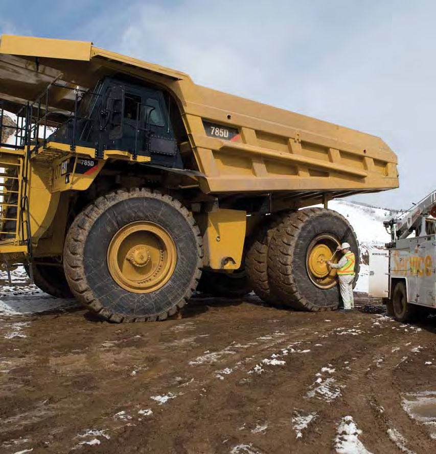 Mining Dump Rigid Dump Truck / Mining