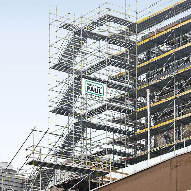 Scaffolding tower - PERI UP Rosett Flex Steel - PERI