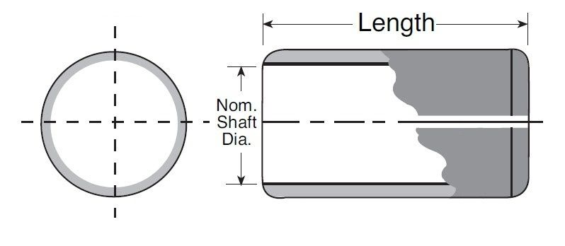 Self Lubricated Plain Bearing