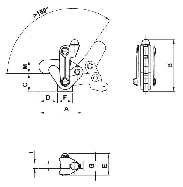 Swing Mechanics Toggle Mechanism With Swinging