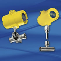 Mass flow meter / thermal / for air / precision