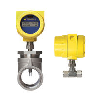 Mass flow meter / thermal / for gas / compact