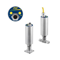 Thermal dispersion flow switch / for liquids / for gas / stainless steel