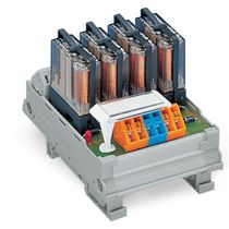 Switching relay module / electromechanical / DIN rail mounted