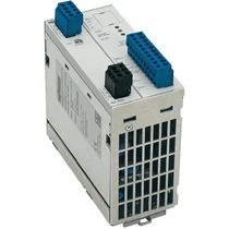 AC/DC power supply / adjustable / DIN rail / single-phase