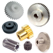 Spur gear / straight-toothed / hub
