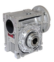 Worm gear reducer / right-angle / with integrated torque limiter