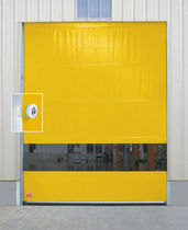 Roll-up doors / exterior / industrial / fabric