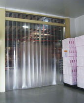 Flexible strip doors / PVC / industrial / access