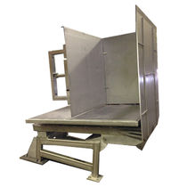 Electric tipping station / pallet / metal