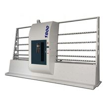 Stationary sandblasting machine / suction / automatic / belt