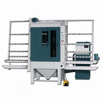 Stationary sandblasting machine / suction / automatic