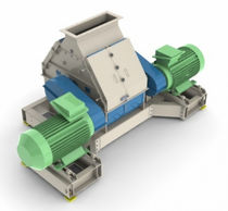 Hammer mill / horizontal / for wood