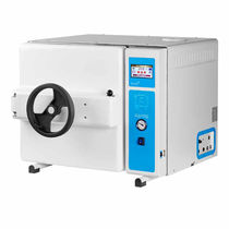 Laboratory autoclave / with steam generator / bench-top
