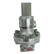 Diaphragm pressure relief valve / high-pressure / compact