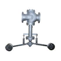 Diaphragm valve / lever / pressure-reducing / for gas