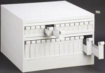 Storage cabinet / benchtop / metal / modular