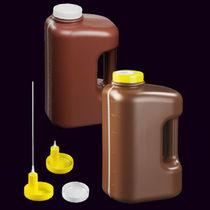Polypropylene vial / with cap