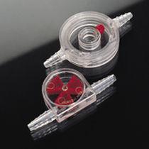 Flow indicator / impeller / glass