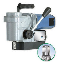 Magnetic base drill / electric / compact