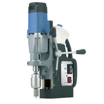 Magnetic base drill / electric / powerful / high-speed