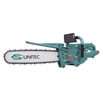 Chain saw / for plastics / wood / pneumatic