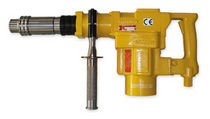 Pneumatic rotary hammer / for construction sites