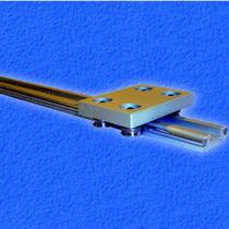 Roller linear guide / steel / aluminum / miniature