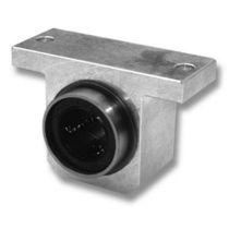 Shaft end support / precision