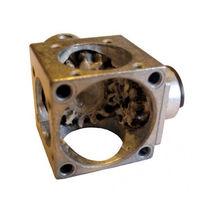 Bevel gear reducer / orthogonal / miniature