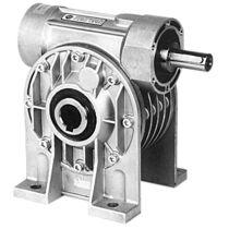 Worm gear reducer / orthogonal / modular / mounted