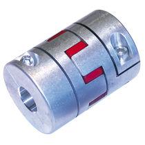 Elastomer coupling / aluminium / backlash-free / compact