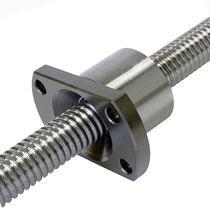 Flange nut / steel / for ball screw