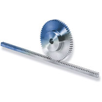 Straight-toothed rack and pinion / linear / plastic / worm