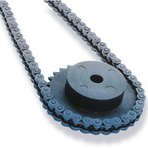 Spur gear / straight-toothed / for chain / hub