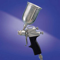 Spray gun / for water-based paint / manual / HVLP