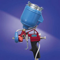 Spray gun / hot-melt adhesive / manual / warming