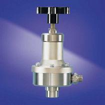 Stainless steel back-pressure regulator