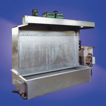 Open spray booth / filter