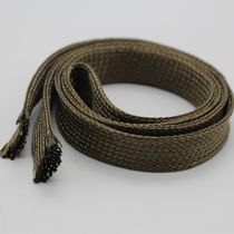 Braided sleeve / for cables / thermal protection / basalt