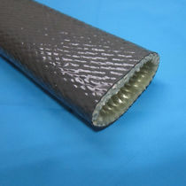 Braided sleeve / for cables / protection / fiberglass