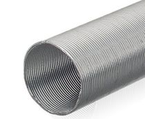 Corrugated sleeve / for cables / protection / aluminum